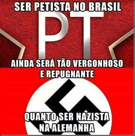 Anti PT Nazista