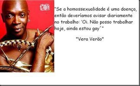 Se homossexualidade fosse doença