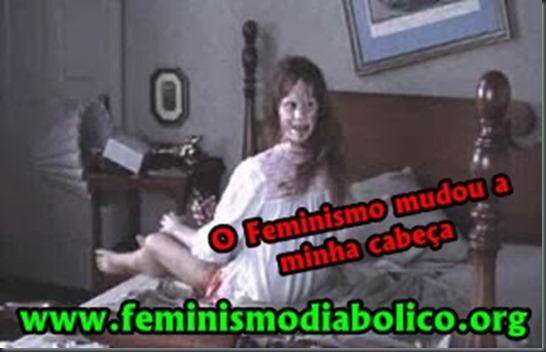 O Feminismo muda a cabeça