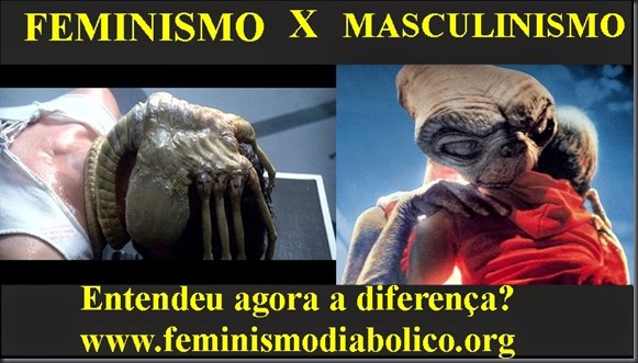 Feminismo X Masculinismo