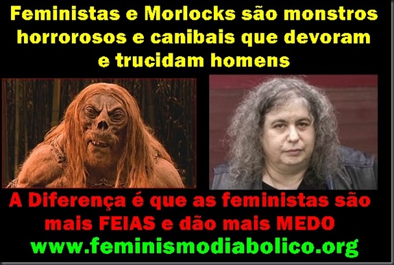 Morlocks e feministas