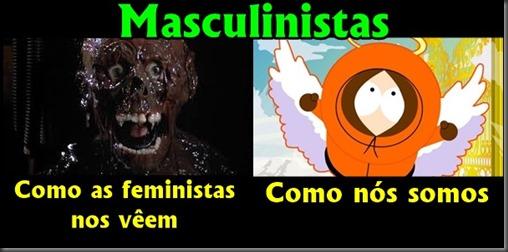 Como os masculinistas são